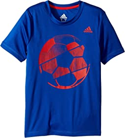 adidas Kids Hacked Sport Ball Tee (Toddler/Little Kids)