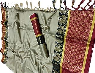 Shree silk mills Cottonsilk Silk Saree