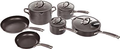 Amazon Com All Clad Master Chef 2 9 Piece Cookware Set