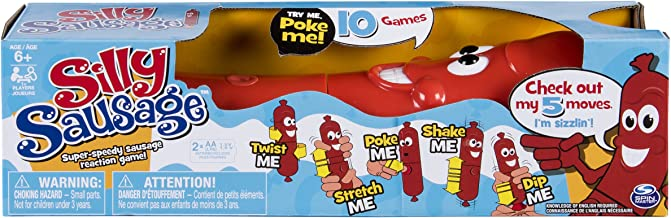 Silly Sausage - Interactive Kids' Game with Sound and Button