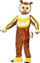 Forum Novelties Men's Give A Hoot Plush Owl Mascot Costume