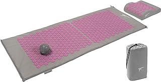 comprar comparacion Fitem Kit de acupresión XL - Cojín + Esterilla de acupresión + Bola de masaje - Alivia dolores de Espalda y Cuello - Masaj...