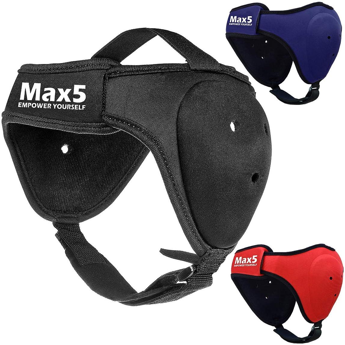 Max5 BJJ Headgear Wrestling Ear Guard MMA Cauliflower Ear Protection Fighting Sparring Helmet adlzict786291
