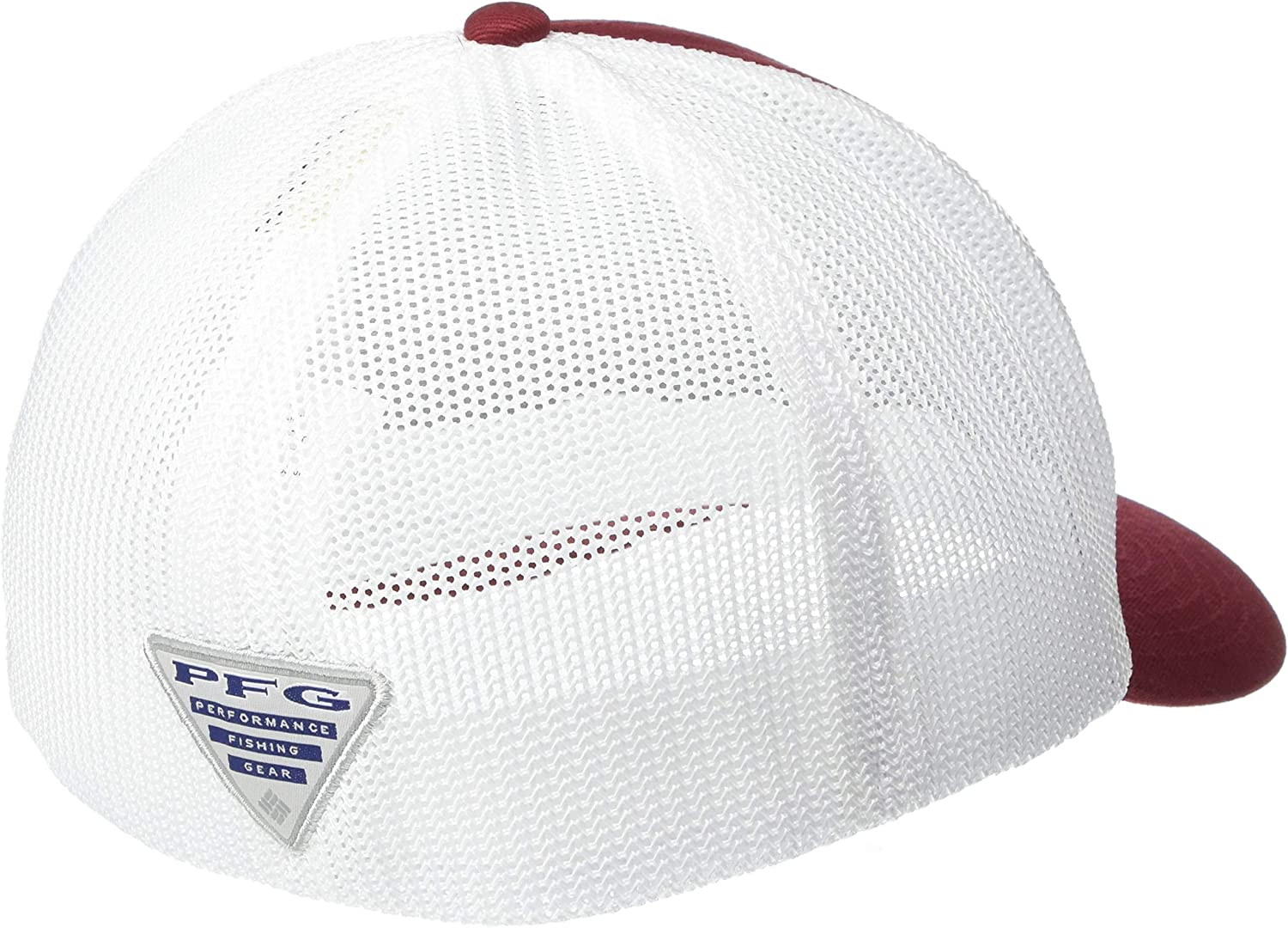 Columbia Mens Collegiate PFG Mesh Ball Cap