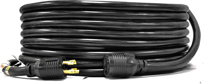 Ceptics 25-Ft 20-Amp Generator Ranking TOP15 Extension 4-Prong L14-20 cheap Cord L