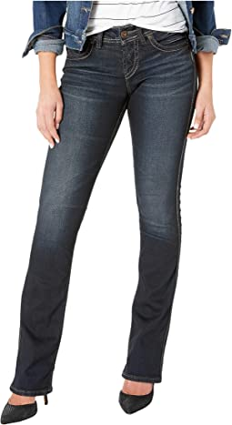 5d940e3e3d1d3 Miss me slim bootcut jeans in medium blue