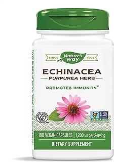 Nature's Way Echinacea Purpurea Herb, 1,200 mg per serving, 180 Capsules