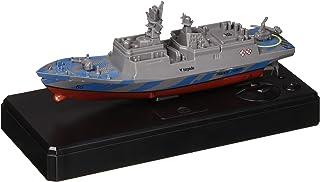 Zlimio RC Boat 2.4GHz RemoteControl Ship for Kid Bathtub Pool Lake, Racing 4 Channels Electric Warship, Blue/Gray/Silver/Navy