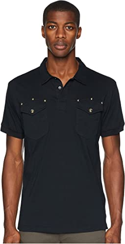 Studded Pocket Polo