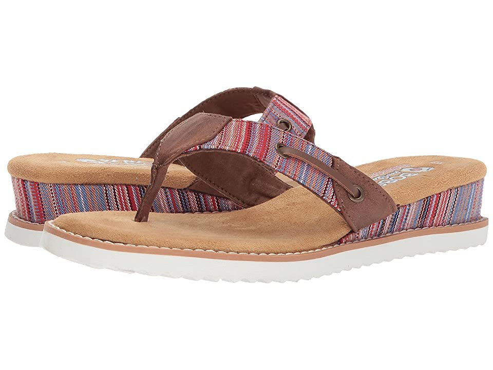 BOBS from SKECHERS Desert Kiss Bohemian (Brown Multi) Women