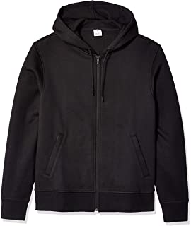 e6d2134f Amazon Essentials Men's Water-Repellent Thermal-Lined Full-Zip Fleece Hoodie