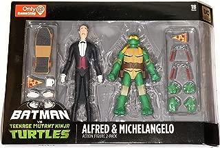 DC Collectibles Batman VS TMNT - Alfred & Michelangelo