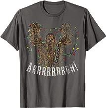 chewbacca christmas lights t shirt