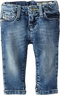 Diesel Baby Girls' Grupeen B Super Slim Skinny Stretch Medium Wash Jean