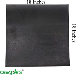 Creator's 18 Inch Large Size Glass Scoring Running Breaking Pad - 18 Inches by 18 Inches - 3/32