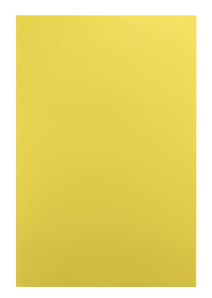 """Hygloss Sheets for Crafts Colorful Foam for DIY Arts & Craft, 12"""" x 18"""", Yellow, 10 Piece"""