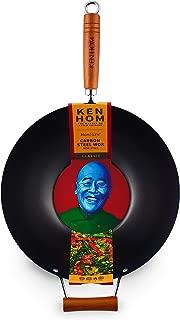 Ken Hom KH335001U Classic Stir Fry Wok, 14
