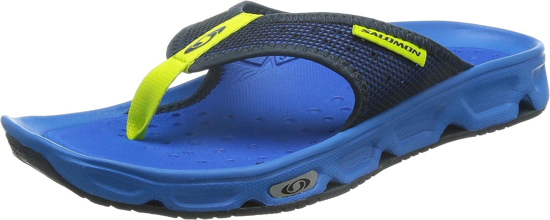 Salomon Men's Rx Break Flip Flops, (Bright Union bluee Gecko Green), 10 UK 44 2 3 EU