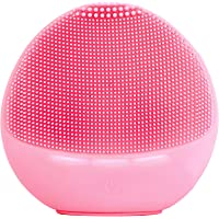 Zyllion Silicone Electric Face Scrubber Massager
