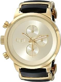 Unisex METCA08 Metronome Analog Display Quartz Gold Watch