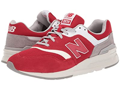 New Balance Classics CM997Hv1-USA (Team Red/Raincloud) Men