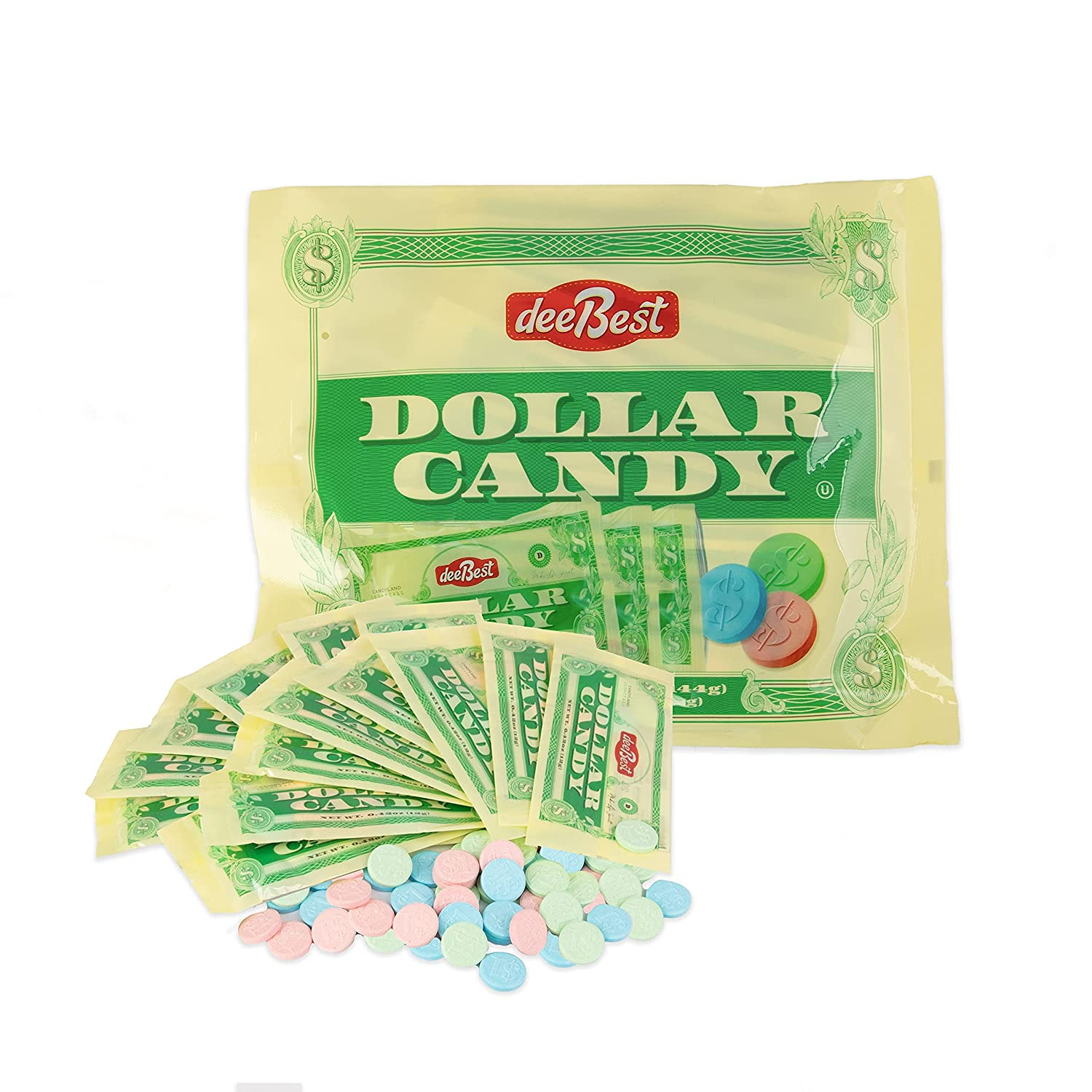 Dee Best Dollar Candy - In Individuall Coins Manufacturer Now on sale direct delivery Themed