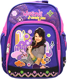 Disney's Wizards of Waverly Place Violet/Pink Floral Toddler Mini Backpack