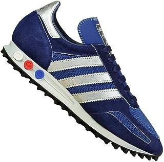 ADIDAS ORIGINALS LA Trainer OG Sneaker Schuhe Leder blau Q34202 Gr. 42 NEU OVP