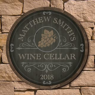 Best personalized wine wall decor Reviews