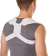 BraceAbility شکل 8 Clavicle Brace & Corrector Posture کشش شکسته برای آسیب و شکستگی، تسمه شانه ای برای بالا بردن راست صاف (بزرگ)