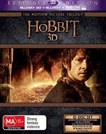 The Hobbit The Motion Picture Trilogy (Extended Edition 3D/Blu-ray)