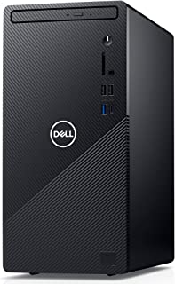 【MS Office Home&Business付き】Dell デスクトップパソコン Inspiron 3881 ブラック Win10/Core i3-10100/8GB/1TB HDD DI330A-ANHBB