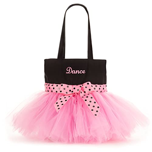 8483bf5b0b6 Pardao Cute Dance Bag for Little Girls - Ballerina Tutu Bag for Kids -  Small Ballet