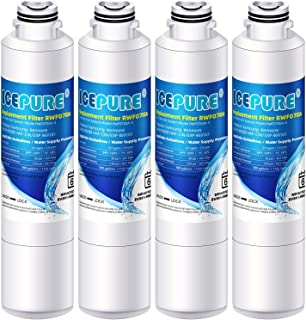 ICEPURE Replacement For Refrigerator Water Filter, Compatible With Samsung DA2900020B, DA2900020A,HAF-CIN/EXP,HAFCIN,KENMORE 469101 [4 PACK]