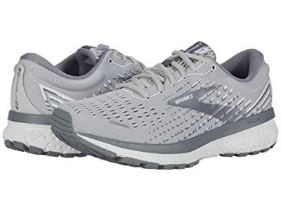 Brooks Ghost 13 (Alloy/Oyster/White) Women