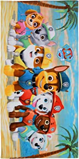 "Franco Kids Super Soft Cotton Beach Towel, 28"" x 58"", Paw Patrol"