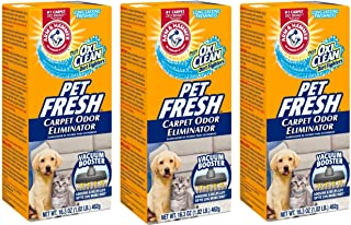 Arm & Hammer Pet Fresh Carpet Odor Eliminator Plus Oxi Clean Dirt Fighters (Pack of..