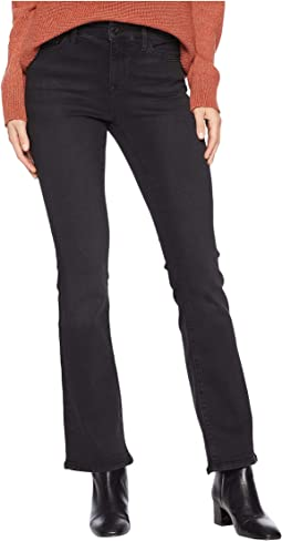 Molly Mid-Rise Bootcut Jeans in Dark Smoke Supersoft