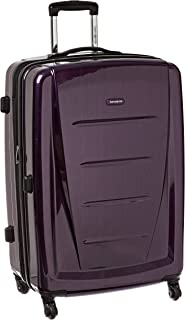 Winfield 2 Hardside Luggage, Purple, Checked-Large