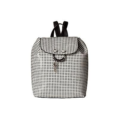 Foley & Corinna Pipa Backpack in Gingham (Black/White) Backpack Bags