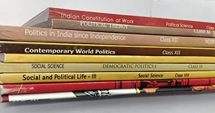 NCERT Political Science Books Set of Class - 6 TO 12 (ENGLISH MEDIUM) for UPSC Prelims/Main / IAS / Civil Services / IFS / IES / ISS / CISF / CDS / SCRA / IFS / NDA and more