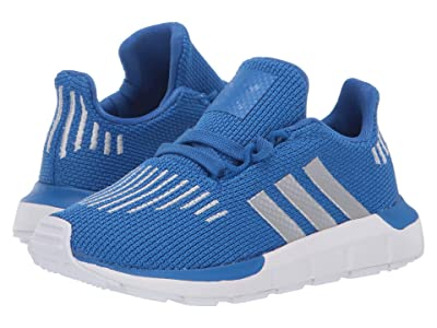 adidas Originals Kids Swift Run INF (Toddler) (Blue/Silver/Black) Boys Shoes