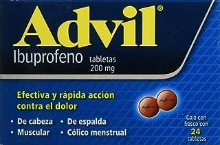 Advil Grageas, 200 mg, 24 Piezas