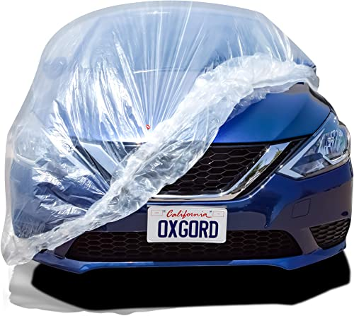 2021 OxGord Brand outlet online sale Car Cover for The - online sale Premium Fitted Plastic Car Cover online sale