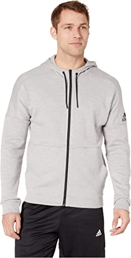 Medium Grey Heather Solid Grey/Raw White