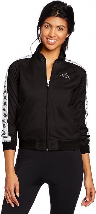 Tuta donna kappa wanniston slim 222 banda authentic giacca donna 301PSC0-222-BANDA-WANNISTON-SL