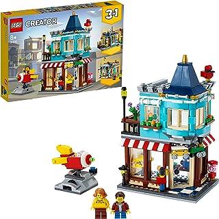 LEGO 31105 Creator 3in1 Woonhuis en speelgoedwinkel cool kinderspeelgoed om zelf te bouwen, bouwset (554 onderdelen)