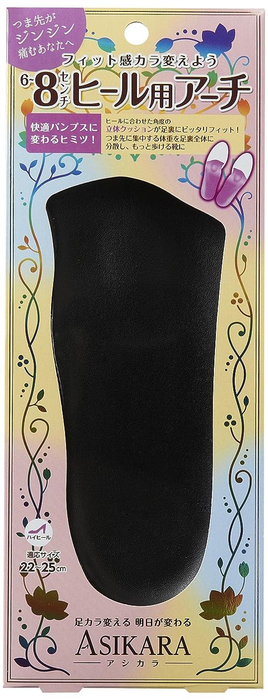 エステート展開するおもてなしASIKARA  6~8cm ヒール用アーチ ブラック