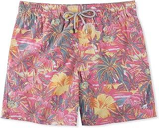 SURFCUZ Men's Floral Print Quick Dry Swim Shorts