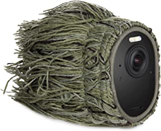 Ghillie Skin kompatibel mit Arlo Ultra   Verbergen und schützen Sie Ihre Arlo Kamera (1er Pack)